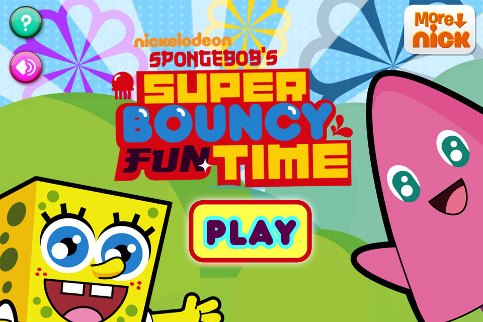 Screenshot SpongeBob's Super Bouncy Fun Time